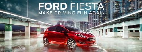 Ford Fiesta Banner