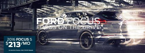 Ford Focus Banner